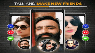 Best Random Video Call Meet New People Girls Strangers