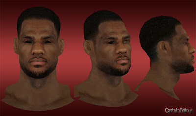 NBA 2K13 LeBron James Afro Hair Mod