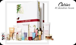 Calendrier Avent Beauté - clarins