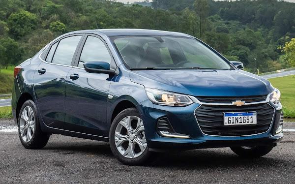 Os carros mais vendidos do Brasil em 2021