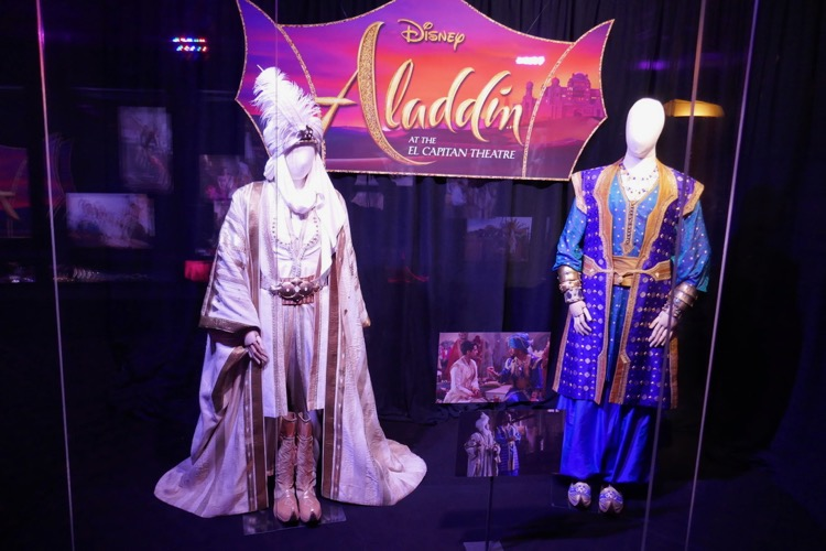 Aladdin film costumes El Capitan Theatre