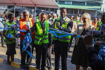 Plasco expands operations - launches the first state of the art pipe factory in East and Central Africa using 'Weholite' technology.