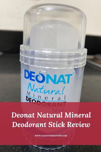 Deonat Natural Mineral Deodorant review
