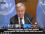 Hanya 2 Menit, Anies Berhasil Pengaruhi Sekjen PBB Setujui Aksi Iklim