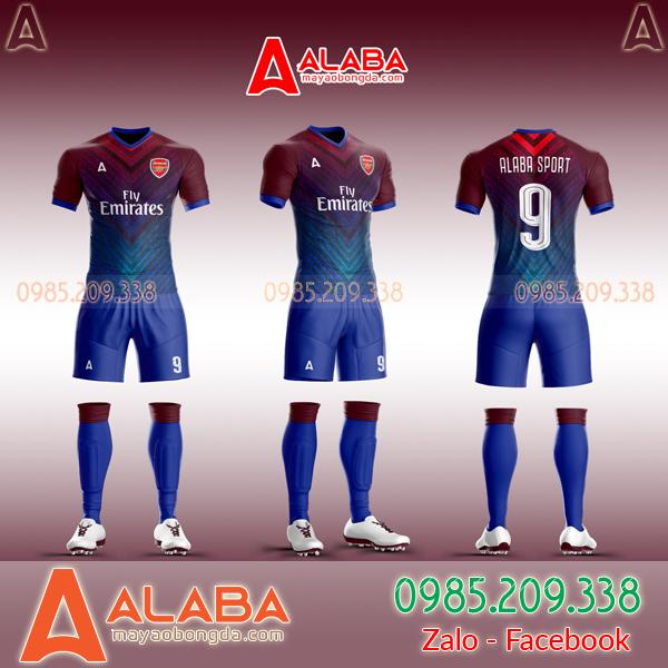 Áo CLB Arsenal tự thiết kế mã ARB AR10 độc lạ