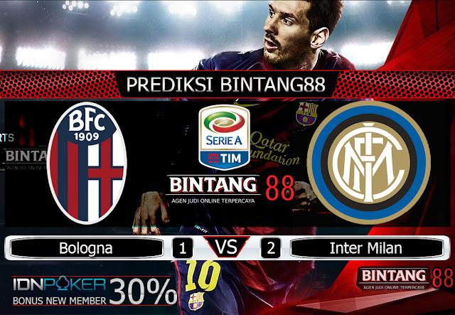 Prediksi Bologna vs Inter Milan 3 November 2019 – Pada hari Minggu, 3 November 2019 pukul 00:00 waktu indonesia barat akan di adakan laga pertandingan Liga Italia antara Bologna vs Inter Milan. Pertandingan ini nantinya akan di laksanakan di Stadion Renato Dall'Ara.