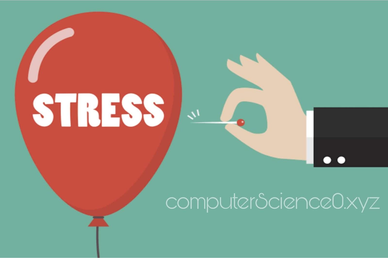 Cutting stress to increase immunity power