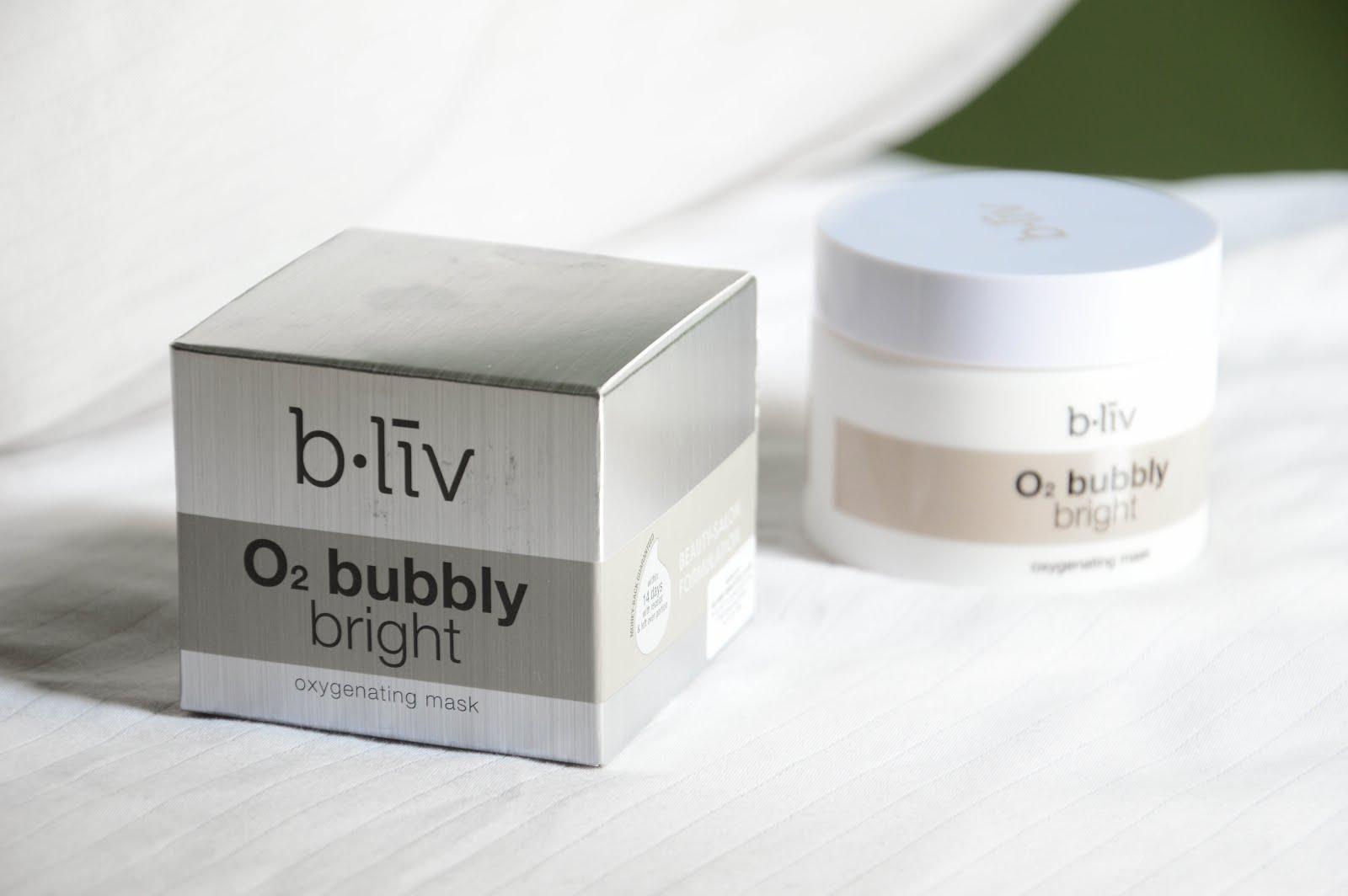 bliv o2 bubbly bright review