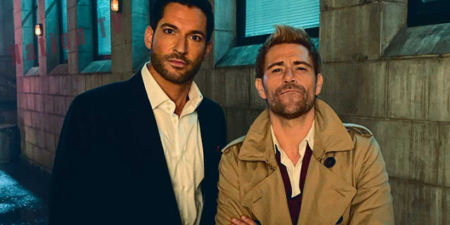 Lucifer - Lucifer and John Constantine in a new series