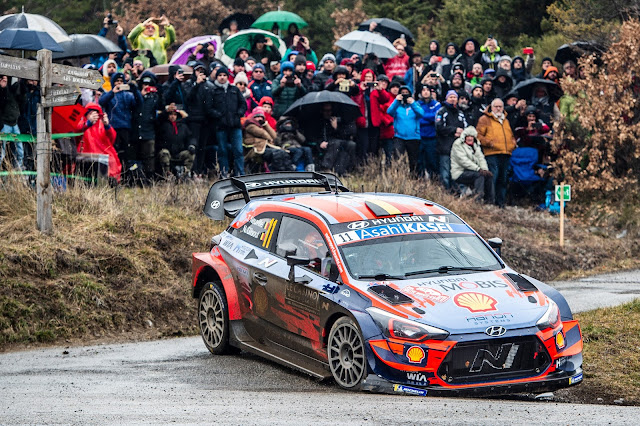 Hyundai i20 World Rally Car Ypres Rally 2020