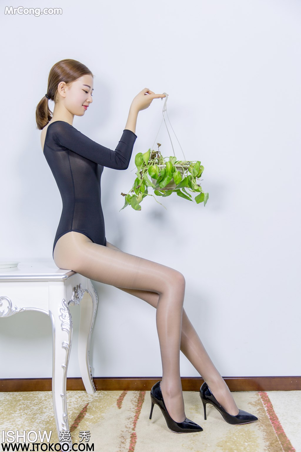 Image ISHOW-No.151-Han-Zhi-Ying-Flora-MrCong.com-009 in post ISHOW No.151: Người mẫu Han Zhi Ying (寒栀樱Flora) (31 ảnh)