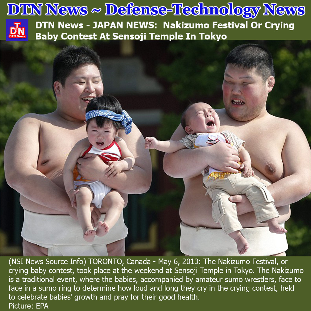 DTN News - JAPAN NEWS: Nakizumo Festival Or Crying Baby Contest At Sensoji  Temple In Tokyo