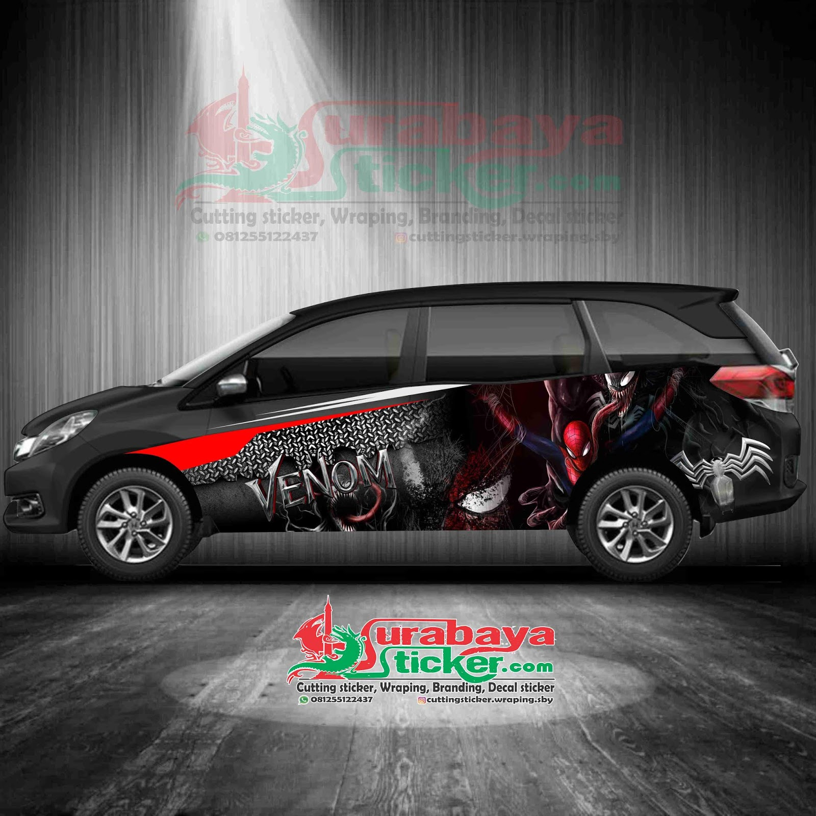 Koleksi Cutting Sticker Mobil Honda Mobilio 2020 2021 Sobat Modifikasi