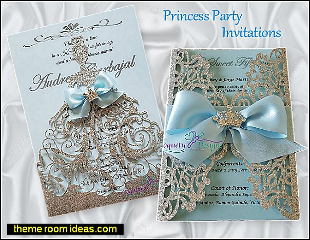 princess party invitations cinderella party invitations party invitations