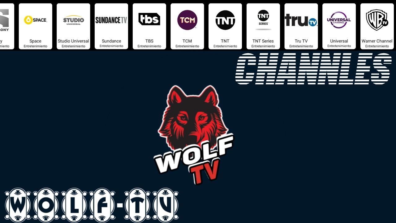 الذئب اللاتيني لمشاهدة القنوات اللاتينية الترفيهية مجانا/WOLF-TV