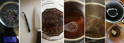 Zubereitung Crème de Cacao dunkel (Dunkler Schokoladenlikör); Crème de Cacao selbermachen
