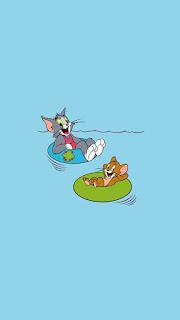 Tom ve Jerry Telefon Duvar Kağıtları 20