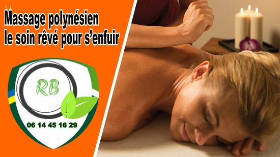 Massage polynésien; le soin rêvé pour s'enfuir;