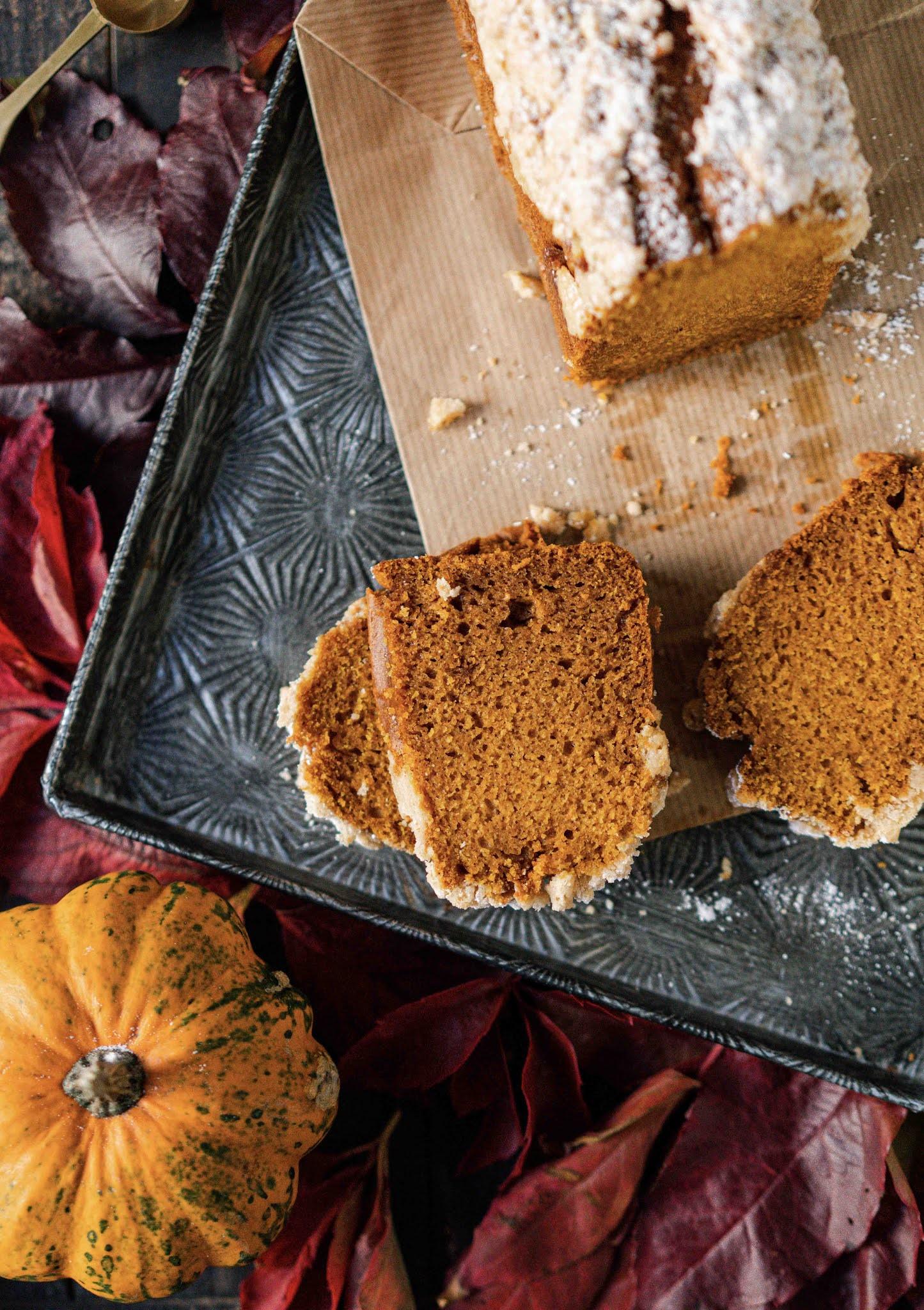 pumpkin bread moelleux