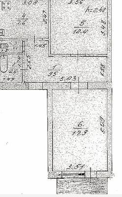 На фотографии изображена продажа 2к квартиры с мебелью и техникой Коцюбинское - 11