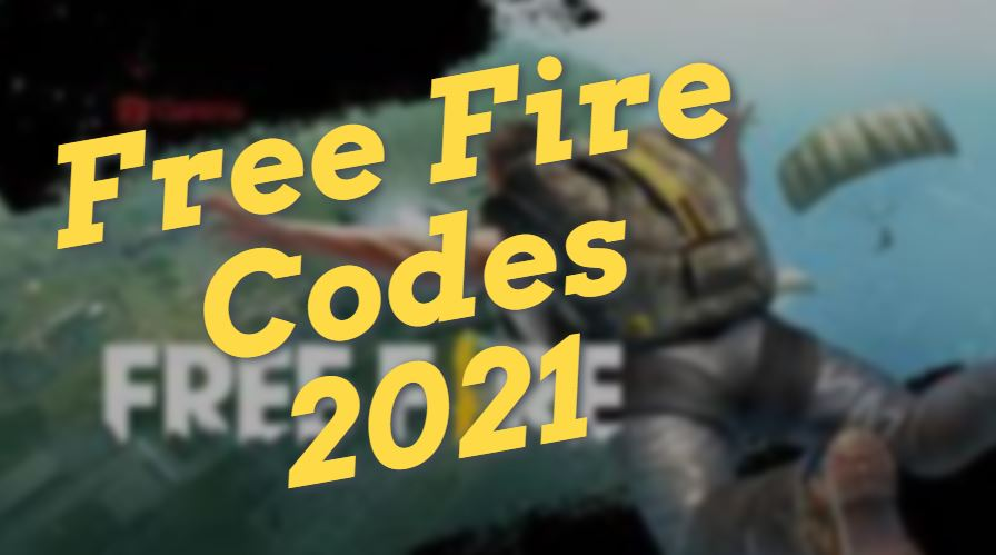 Free Fire Codes 2021