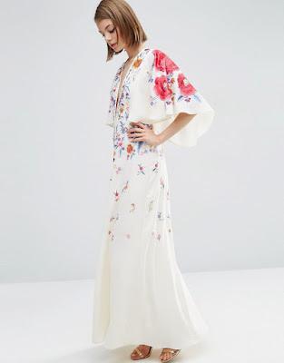vestidos largos con manga