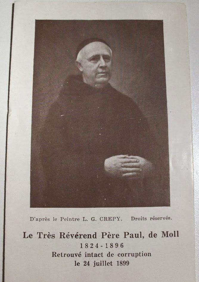 Père Paul de Moll : pourquoi l'Eglise reste silencieuse devant tant de prodiges !  Reverend+Pere+Paul+de+Moll