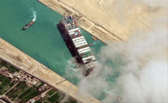 Η Αίγυπτος κατέσχεσε το Ever Given και ζητά αποζημίωση 900 εκατομμυρίων δολαρίων