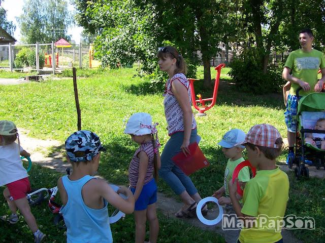 Олимпийские игры с детьми