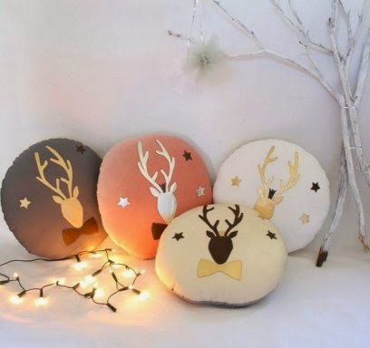 Resultado de imagen de cabezas de renos para navidad