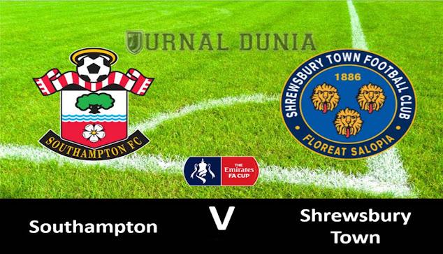 Prediksi Southampton vs Shrewsbury Town, Selasa 20 Januari 2020 Pukul 03.00 WIB