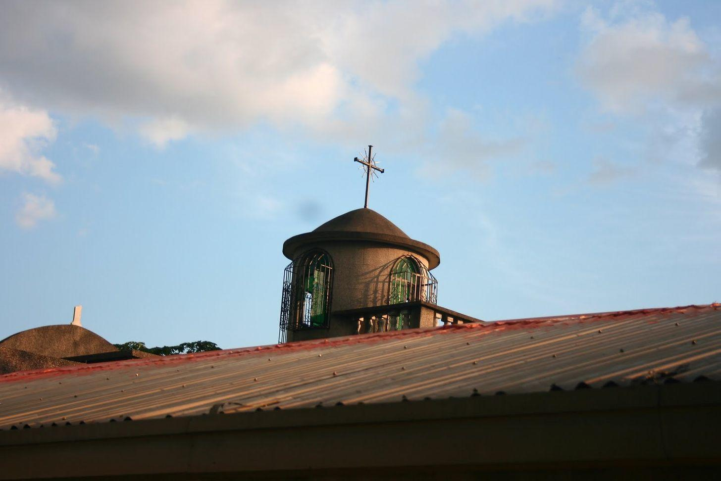 Roof of the Chapel of St. Pancratius inside La Loma Cemetery
