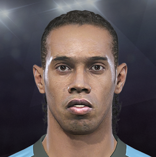 PES 2018 Faces Ronaldinho by Stels