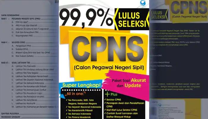 Download Modul 99,9% Lulus Seleksi CPNS