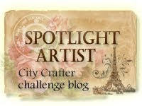 Spotlight Artist, City Crafters Challenge Blog
