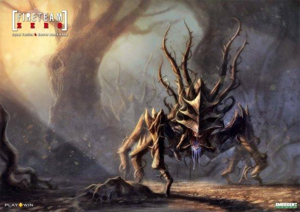 Loïc Muzy arte ilustrações fantasia terror monstros sombrio games