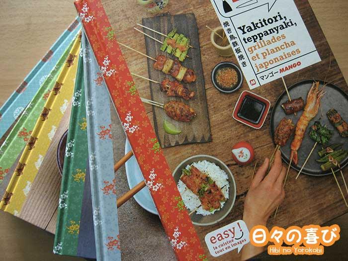 Les 6 livres de cuisine japonaise de Laure Kié