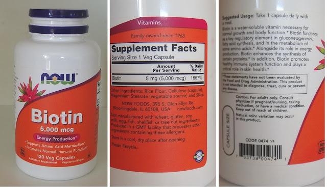 Biotine now foods