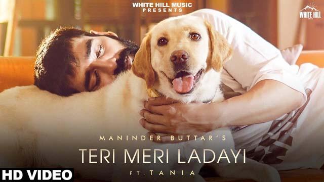 लड़ाई TERI MERI LADAI lyrics in Hindi-Maninder Buttar