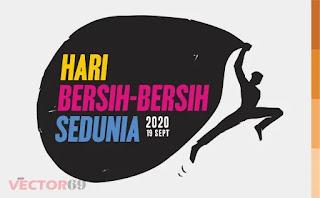 Logo Hari Bersih-bersih Sedunia 2020 - Download Vector File AI (Adobe Illustrator)