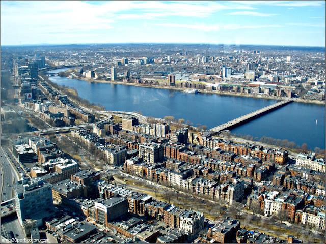 Harvard Bridge desde el Observatorio del Prudential