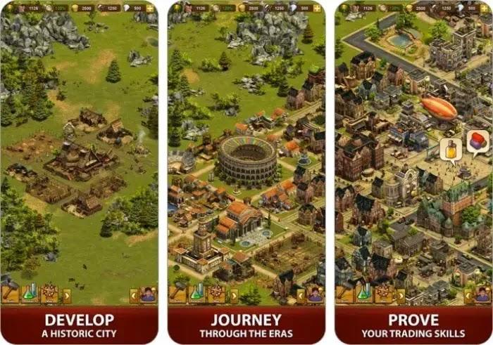 forge of empires: game membangun kerajaan dengan strategi unik