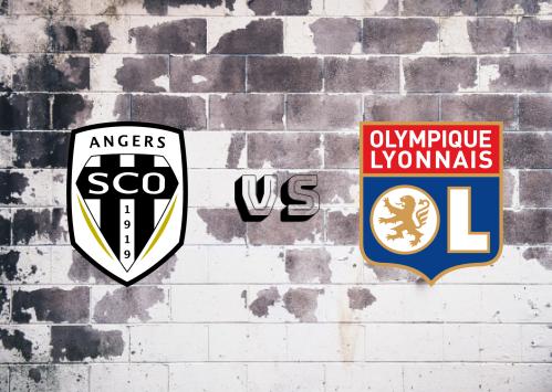 Angers vs Olympique Lyonnais  Resumen