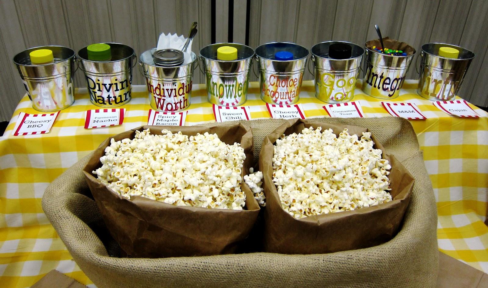 fresh juniper: DIY Popcorn Bar