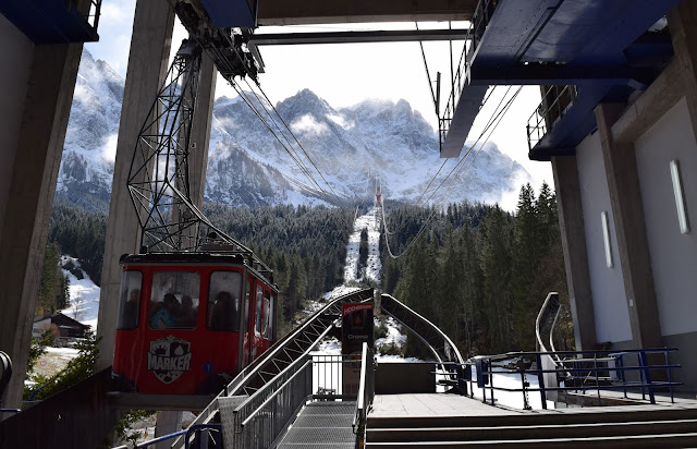 zugspitze, eibsee cable car