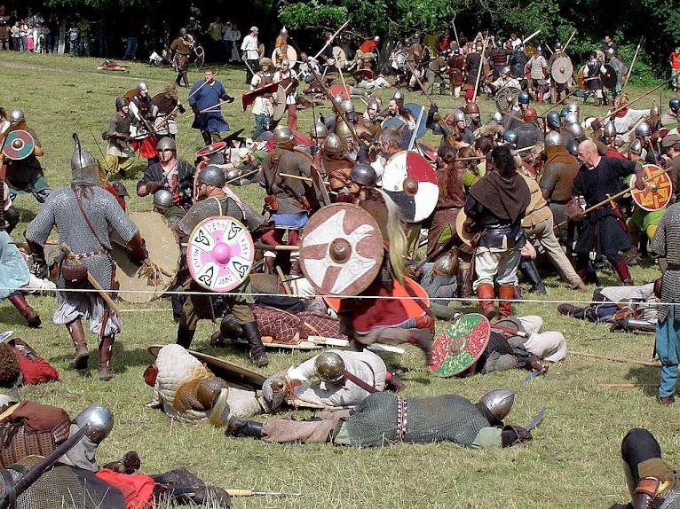 Reencenamento histórico das guerras dos normandos pagãos (vikings), Dinamarca