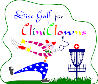 Disc Golf für CliniClowns Sticker