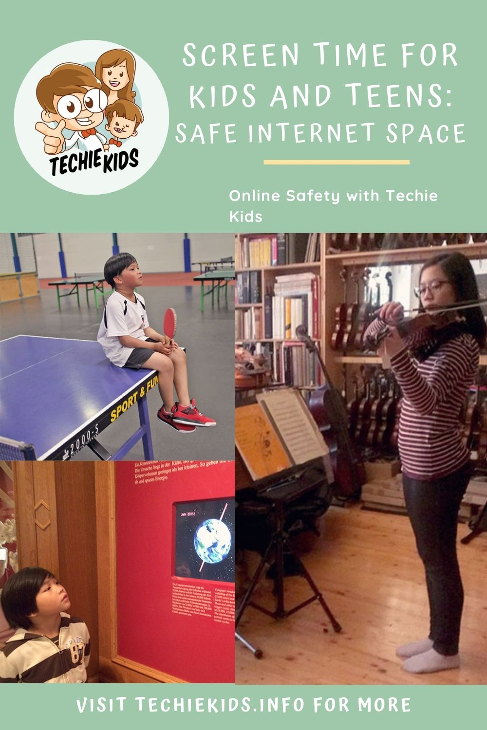 Screen Time For Kids And Teens: Finding Safe Games and Internet Space