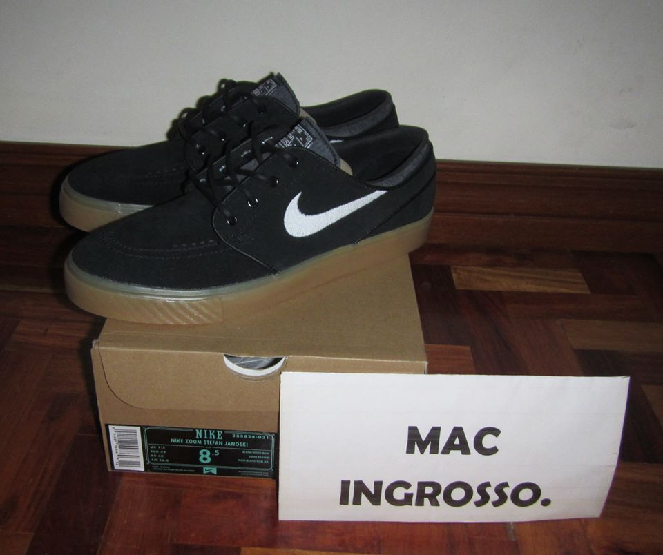 4fb65b50bb0c Nike SB For Sale  NIKE STEFAN JANOSKI BLACK GUM SOLE