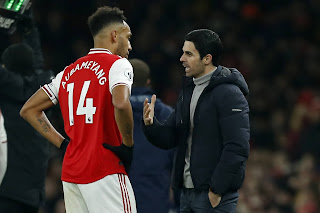 Arteta reveals Aubameyang very vital for Arsenal